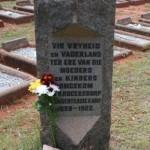 Krugersdorp - Konsentrasiekamp Begraafplaas / Concentration Camp Cemetery