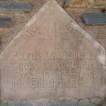 Grafsteen / Gravestone - Petrus van Aswegen