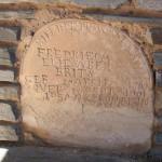 Grafsteen / Gravestone - Fredrieca Eliesabeth Brits