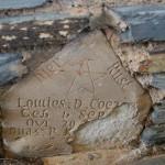 Grafsteen / Gravestone - Lowies D. Coe---