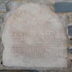 Grafsteen / Gravestone - S.H. Coetzee