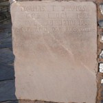 Grafsteen / Gravestone - Tommas T. Davies