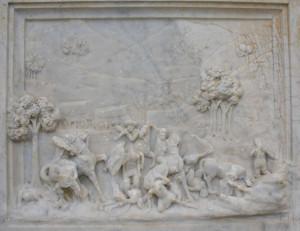 Monument te Bloukransrivier