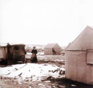 Aliwal Noord Konsentrasie Kamp Winter 1901