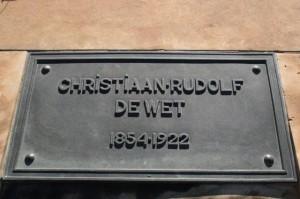 6 - De Wet, Christiaan Rudolf