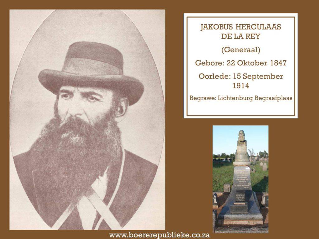 Jakobus Herculaas De La Rey